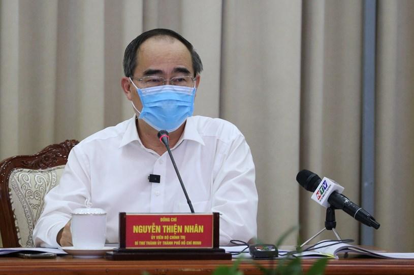 Bí thư Thành ủy Nguyễn Thiện Nhân: TP HCM vẫn đang ở ngưỡng an toàn - Ảnh 1.
