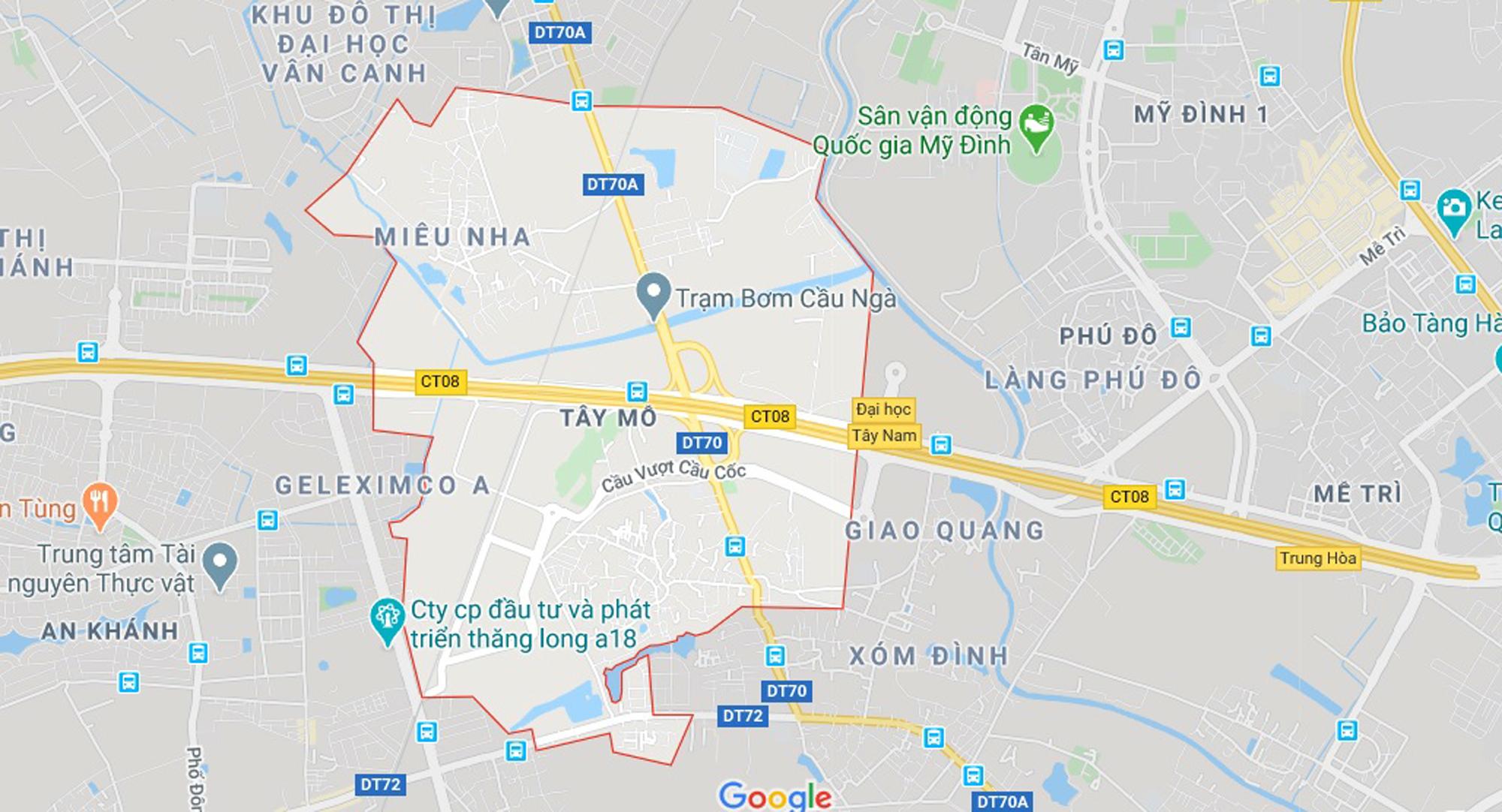 đường sẽ mở theo qui hoạch ở phường Tây Mỗ, Nam Từ Liêm, Hà Nội - Ảnh 1.