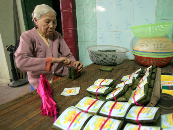 Ghé qua đất Kinh Bắc đừng quên thưởng thức món bánh phu thê truyền thống thơm ngon - Ảnh 1.