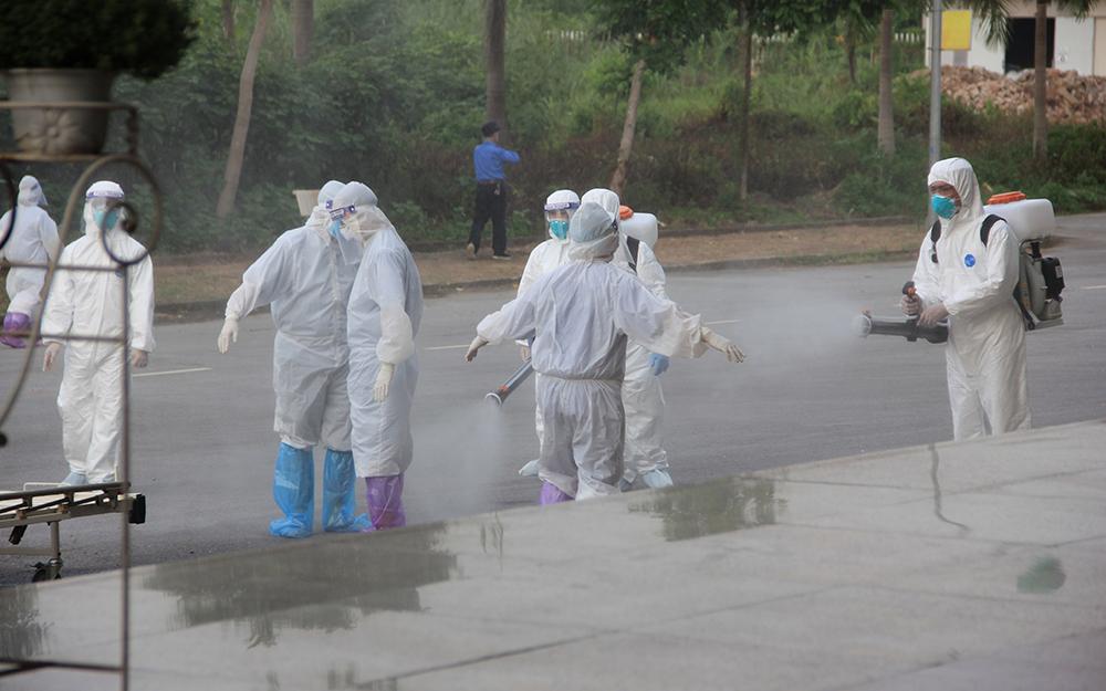 Xuất hiện nhiều ổ dịch nhỏ, có nguy cơ lây nhiễm, bùng phát. (Ảnh: Báo Nhân Dân).