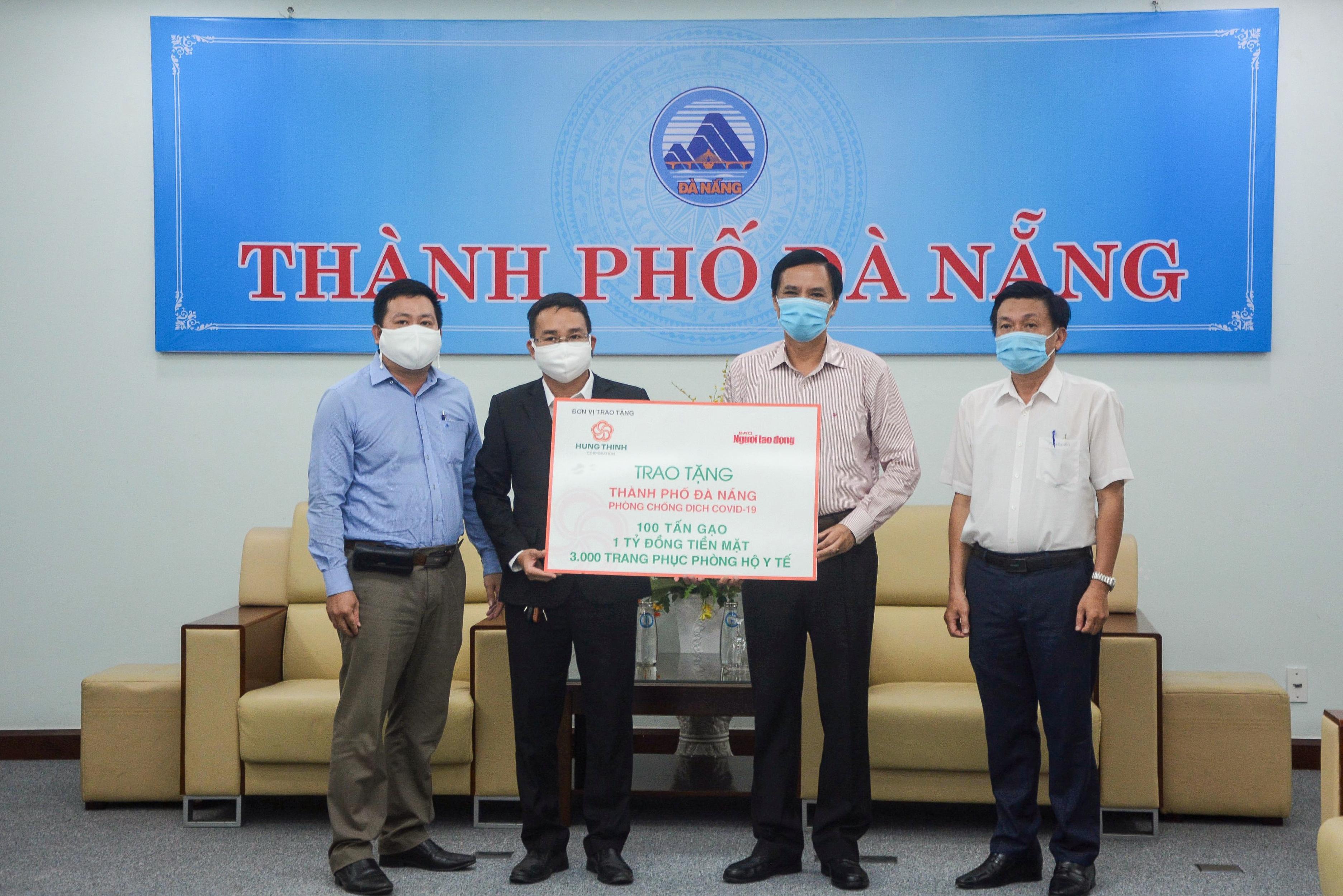 Tập đoàn Hưng Thịnh tiếp sức TP Đà Nẵng và tỉnh Quảng Nam phòng chống dịch COVID-19 - Ảnh 3.