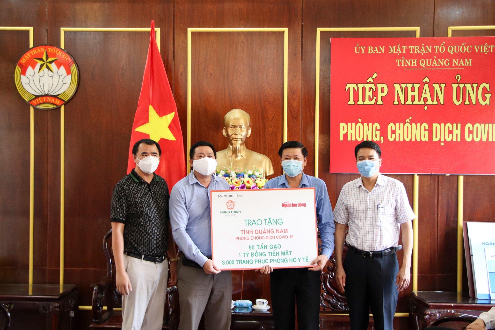 Tập đoàn Hưng Thịnh tiếp sức TP Đà Nẵng và tỉnh Quảng Nam phòng chống dịch COVID-19 - Ảnh 4.