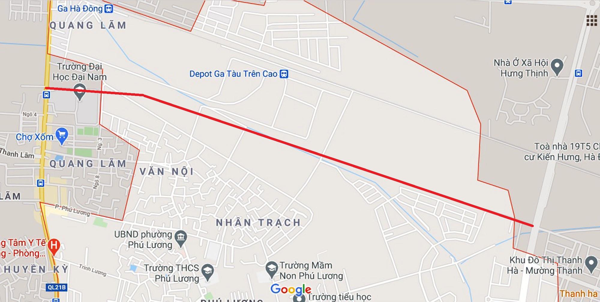 đường sẽ mở theo qui hoạch ở phường Phú Lương, Hà Đông, Hà Nội - Ảnh 10.