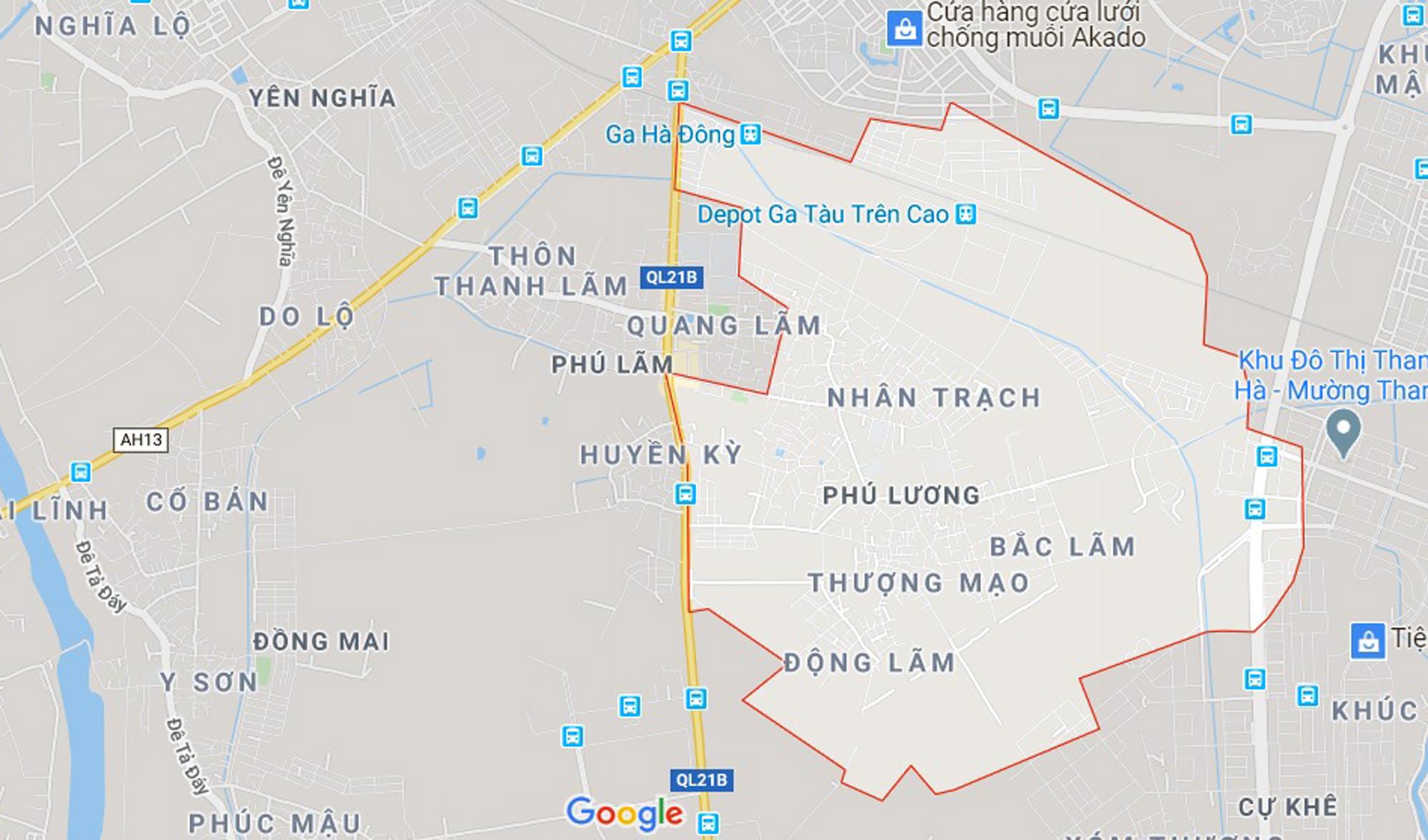 đường sẽ mở theo qui hoạch ở phường Phú Lương, Hà Đông, Hà Nội - Ảnh 1.