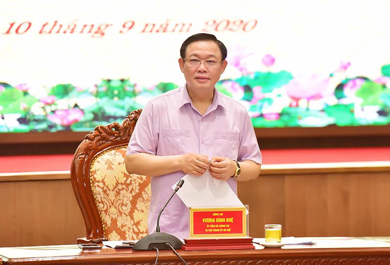 Ghi nhận kết quả 8 tháng khởi sắc, Hà Nội đặt mục tiêu tăng trưởng gấp 1,3 lần bình quân cả nước - Ảnh 1.