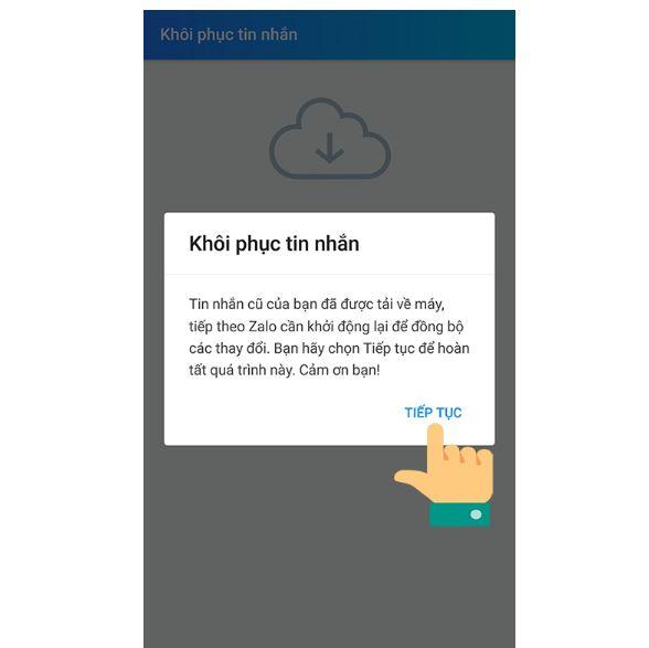 Cách khôi phục tin nhắn đã xóa trên zalo, Facebook, Viber trên điện thoại - Ảnh 3.