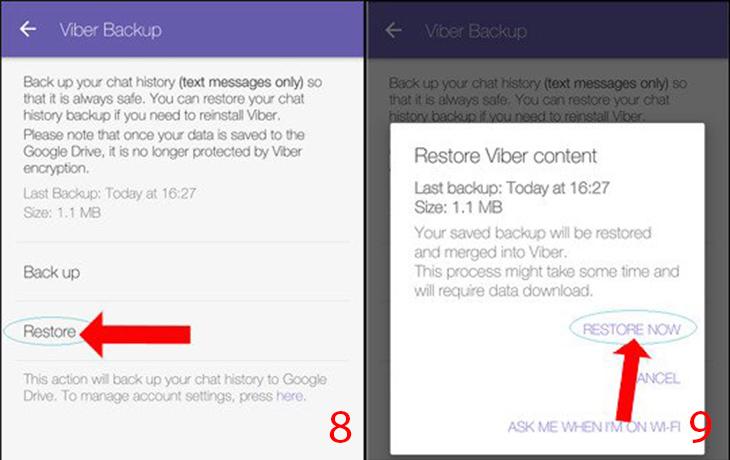 Cách khôi phục tin nhắn đã xóa trên zalo, Facebook, Viber trên điện thoại - Ảnh 15.