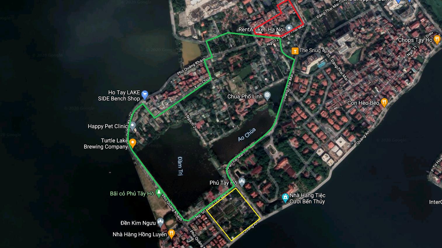Đất dính qui hoạch ở phường Quảng An, Tây Hồ, Hà Nội - Ảnh 3.