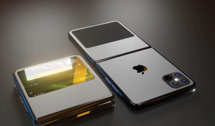 Mẫu concept iPhone 12 Flip màn hình gập cực kì ấn tượng cho iFan - Ảnh 1.