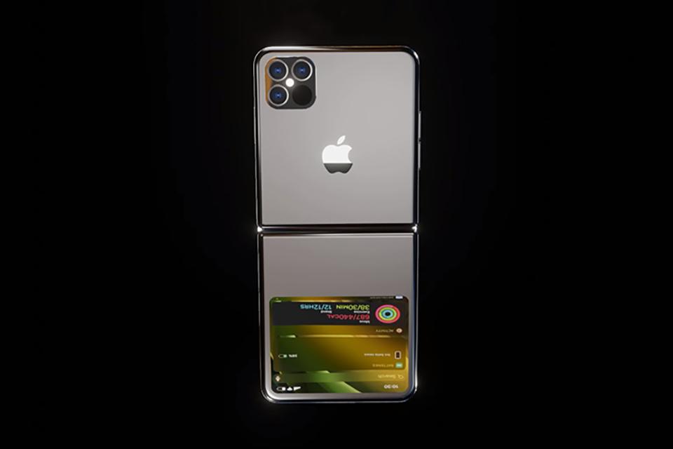 Mẫu concept iPhone 12 Flip màn hình gập cực kì ấn tượng cho iFan - Ảnh 2.