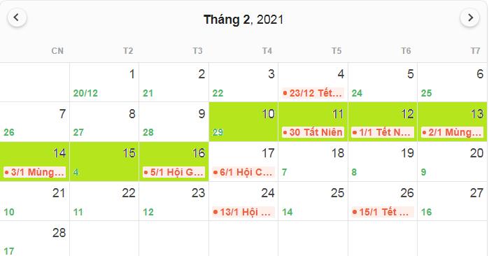 Đề xuất hai phương án nghỉ Tết Nguyên đán Tân Sửu 2021 - Ảnh 1.