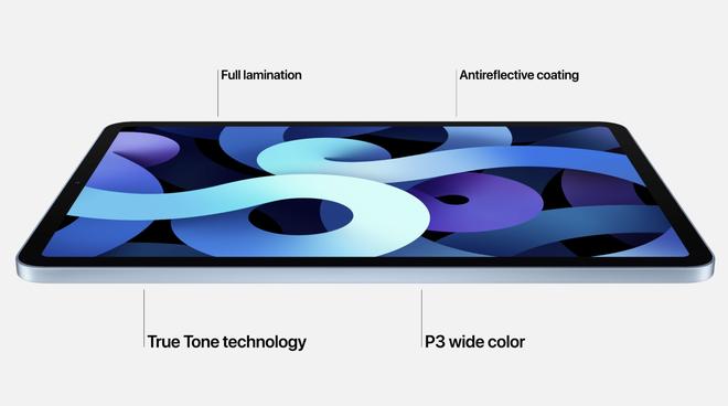 iPad Air ra mắt với chip A14 Bionic, vân tay trên nút nguồn, thiết kế tương tự iPad Pro, giá từ 14 triệu đồng - Ảnh 1.