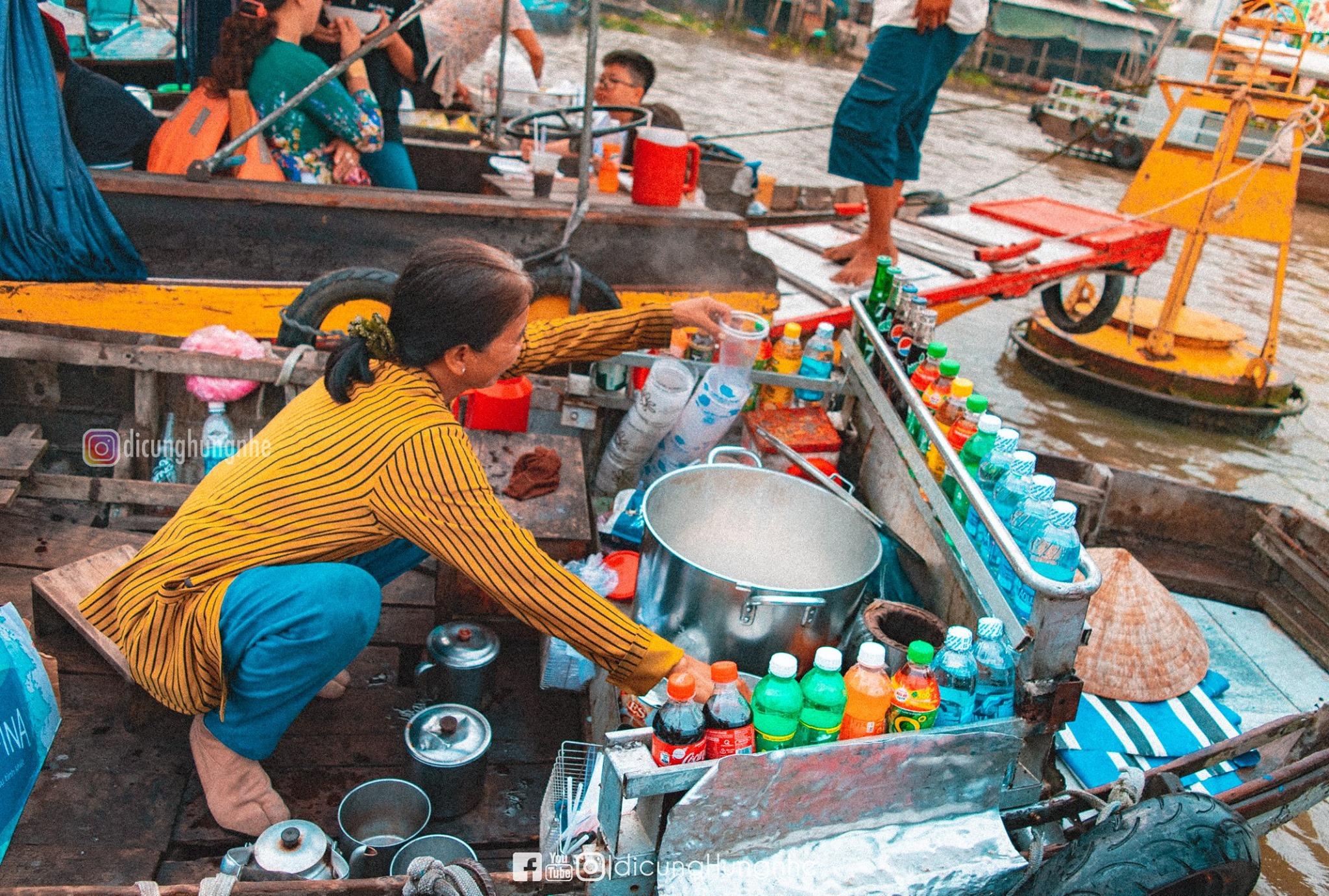 Một ngày lênh đênh tại chợ nổi Cái Răng  - Ảnh 9.