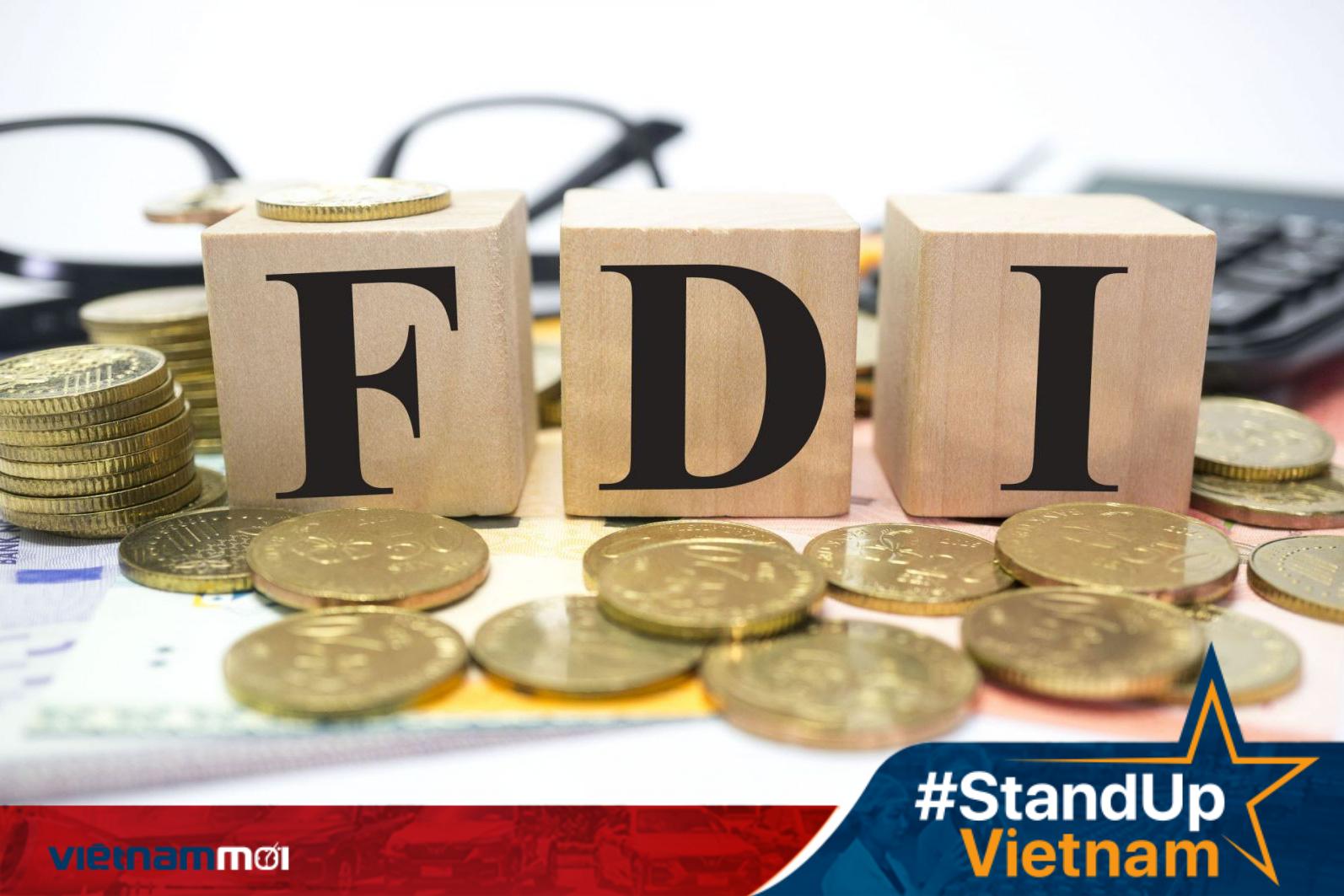 Việt Nam thu hút gần 19 tỉ USD vốn FDI  trong 7 tháng