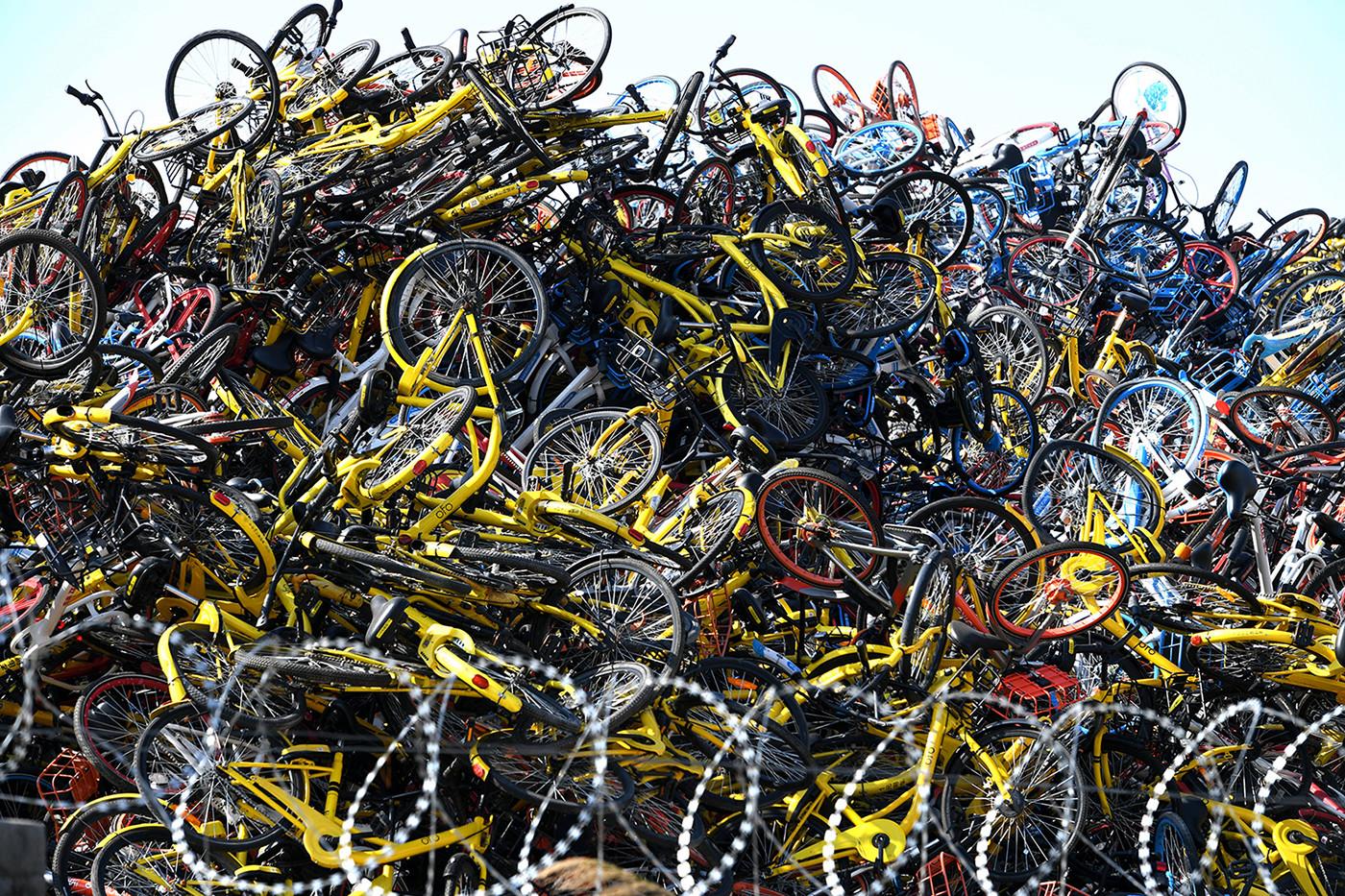 Nghĩa địa xe đạp: Minh chứng cho một chính sách thất bại của Trung Quốc - Ảnh 1.