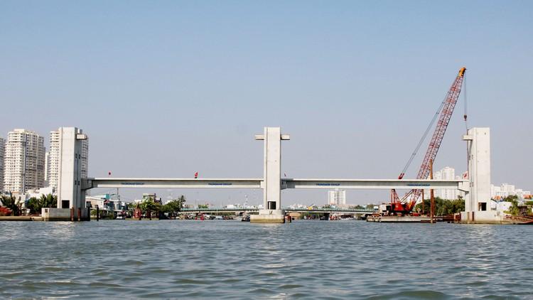 Dự án Giải quyết ngập do triều - giai đoạn 1 dự kiến đưa vào vận hành vào tháng 10/2020. (Ảnh: Báo Đấu thầu).