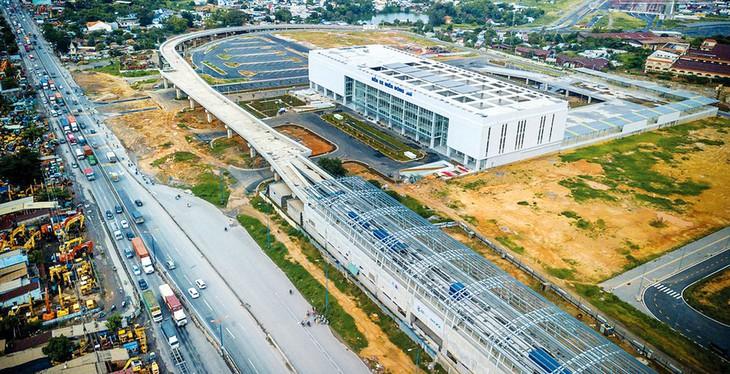 Giai đoạn 1 của Dự án Bến xe Miền Đông mới đã hoàn thành và chuẩn bị khai trương. (Ảnh: Lê Toàn/Báo Đấu thầu).