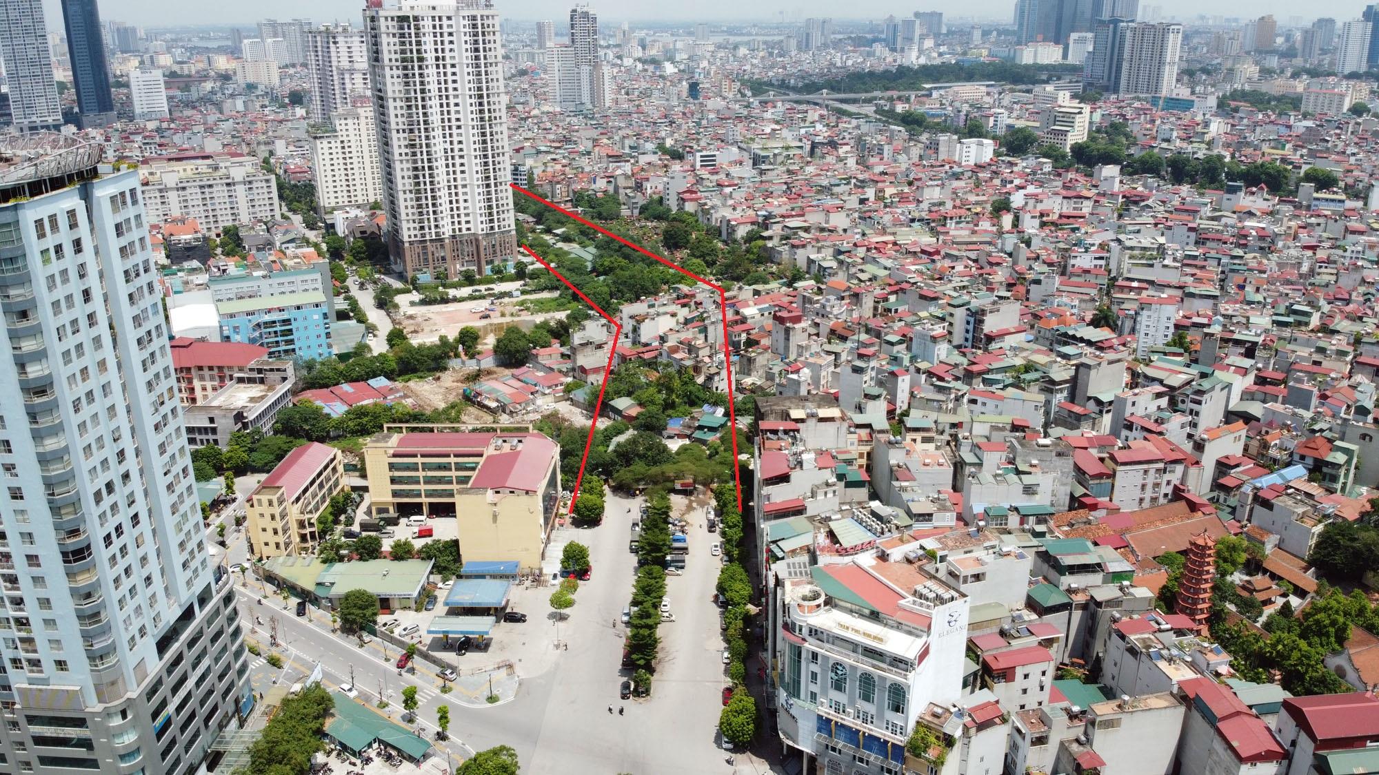 đường sẽ mở theo qui hoạch ở phường Yên Hòa, Cầu Giấy, Hà Nội - Ảnh 3.