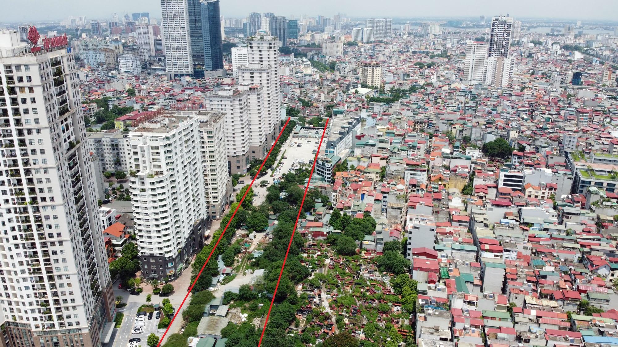 đường sẽ mở theo qui hoạch ở phường Yên Hòa, Cầu Giấy, Hà Nội - Ảnh 4.