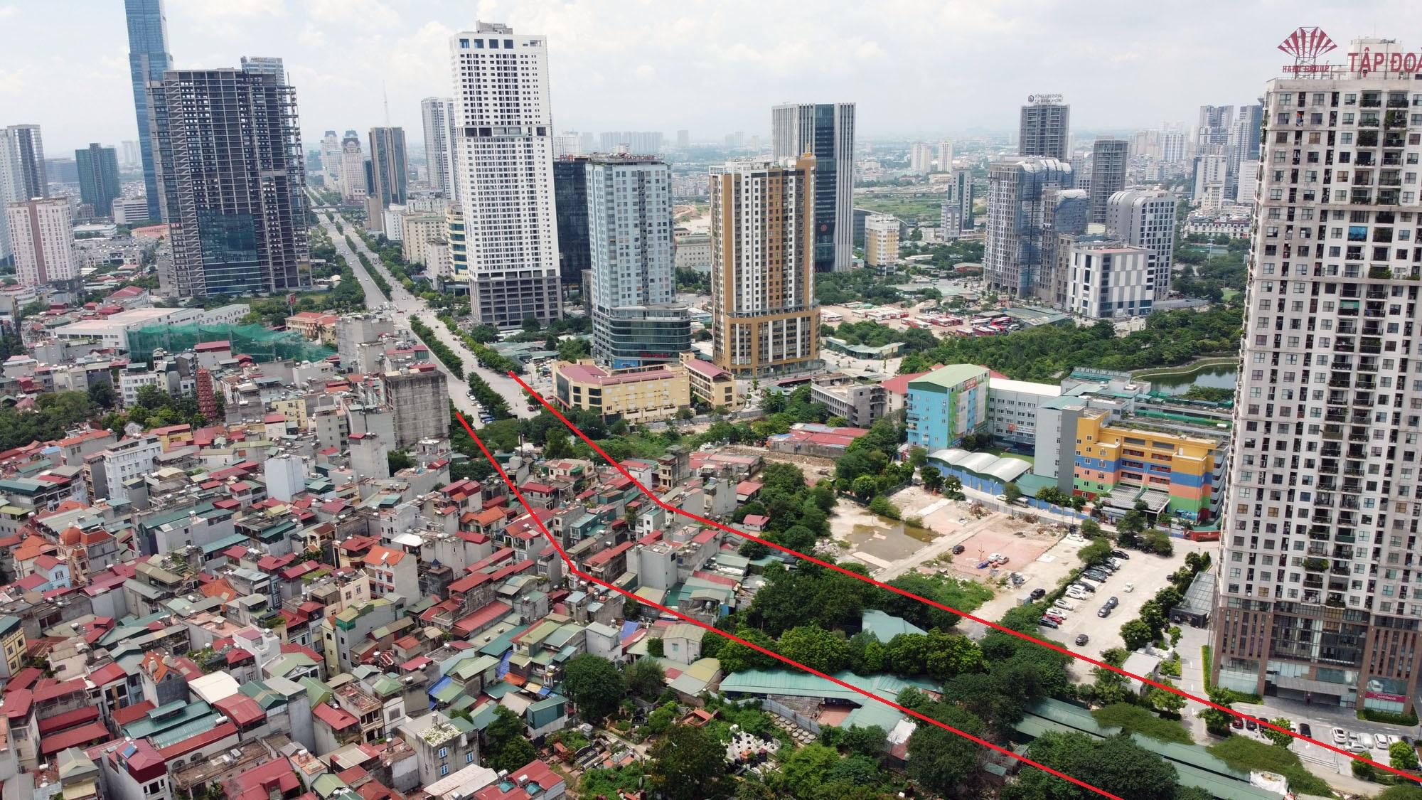 đường sẽ mở theo qui hoạch ở phường Yên Hòa, Cầu Giấy, Hà Nội - Ảnh 6.