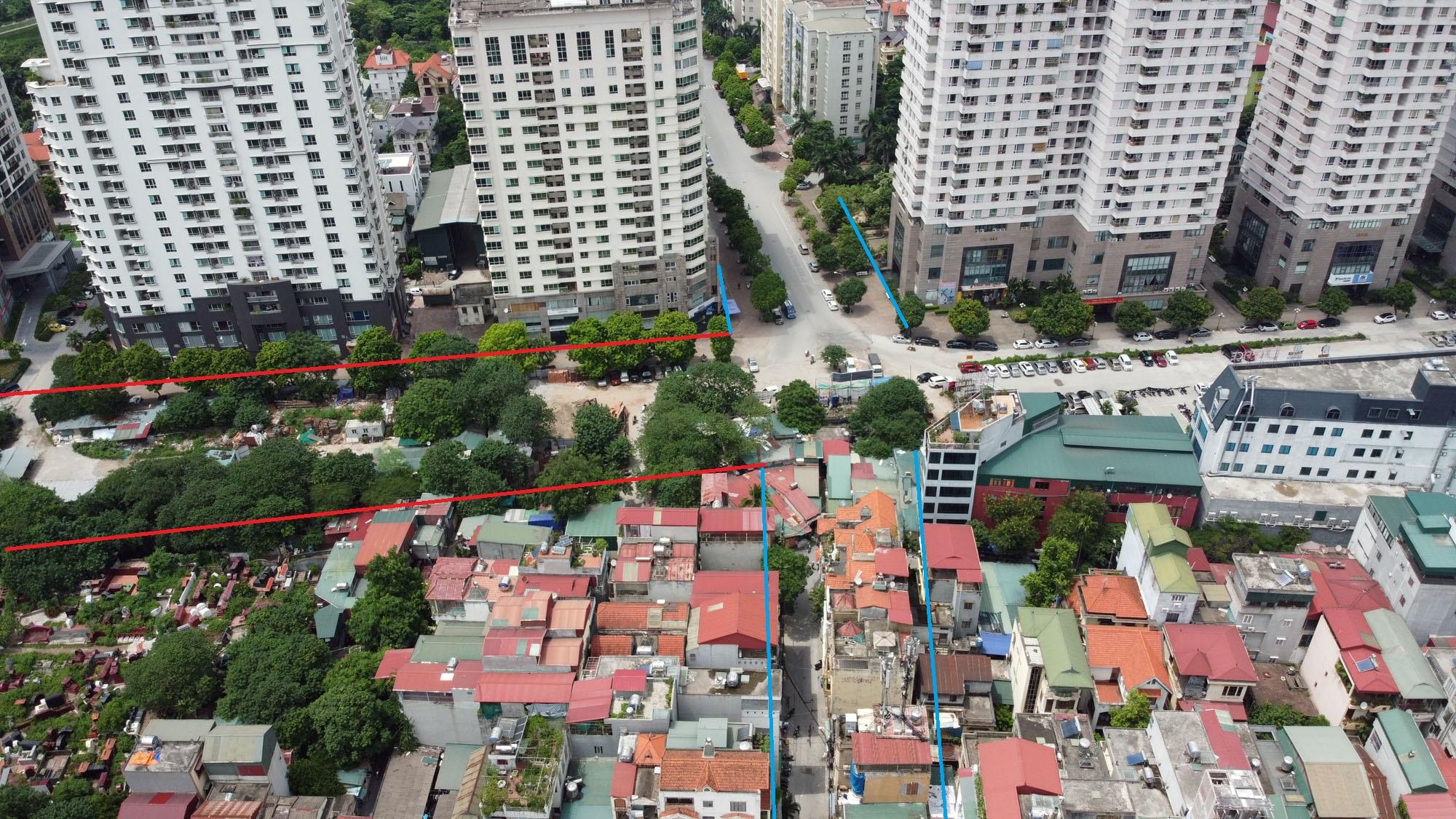 đường sẽ mở theo qui hoạch ở phường Yên Hòa, Cầu Giấy, Hà Nội - Ảnh 8.