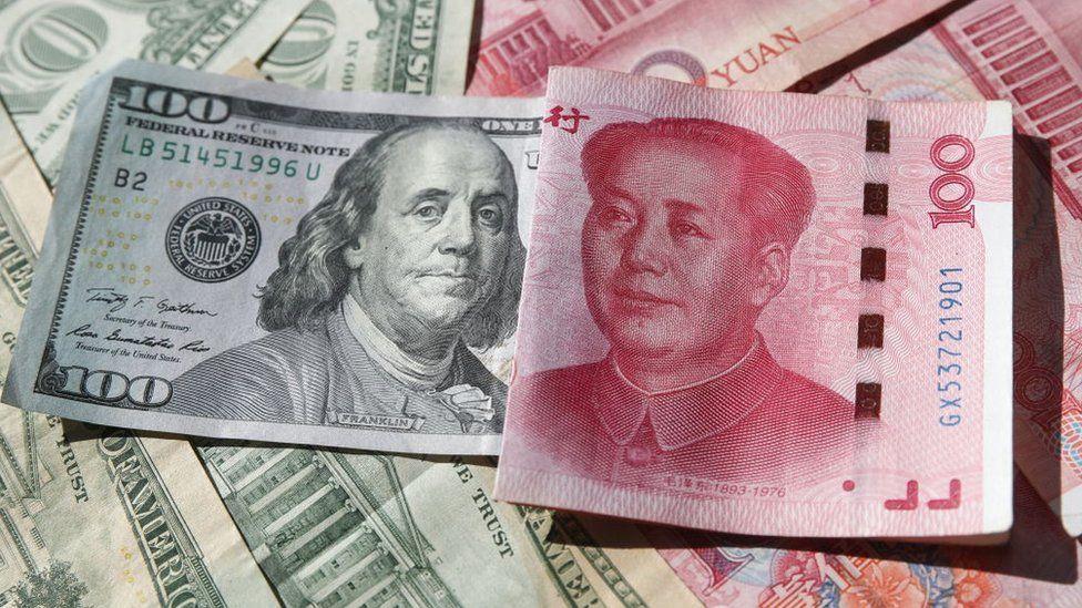 Nhân dân tệ đang tăng giá mạnh so với đồng USD - Ảnh 1.