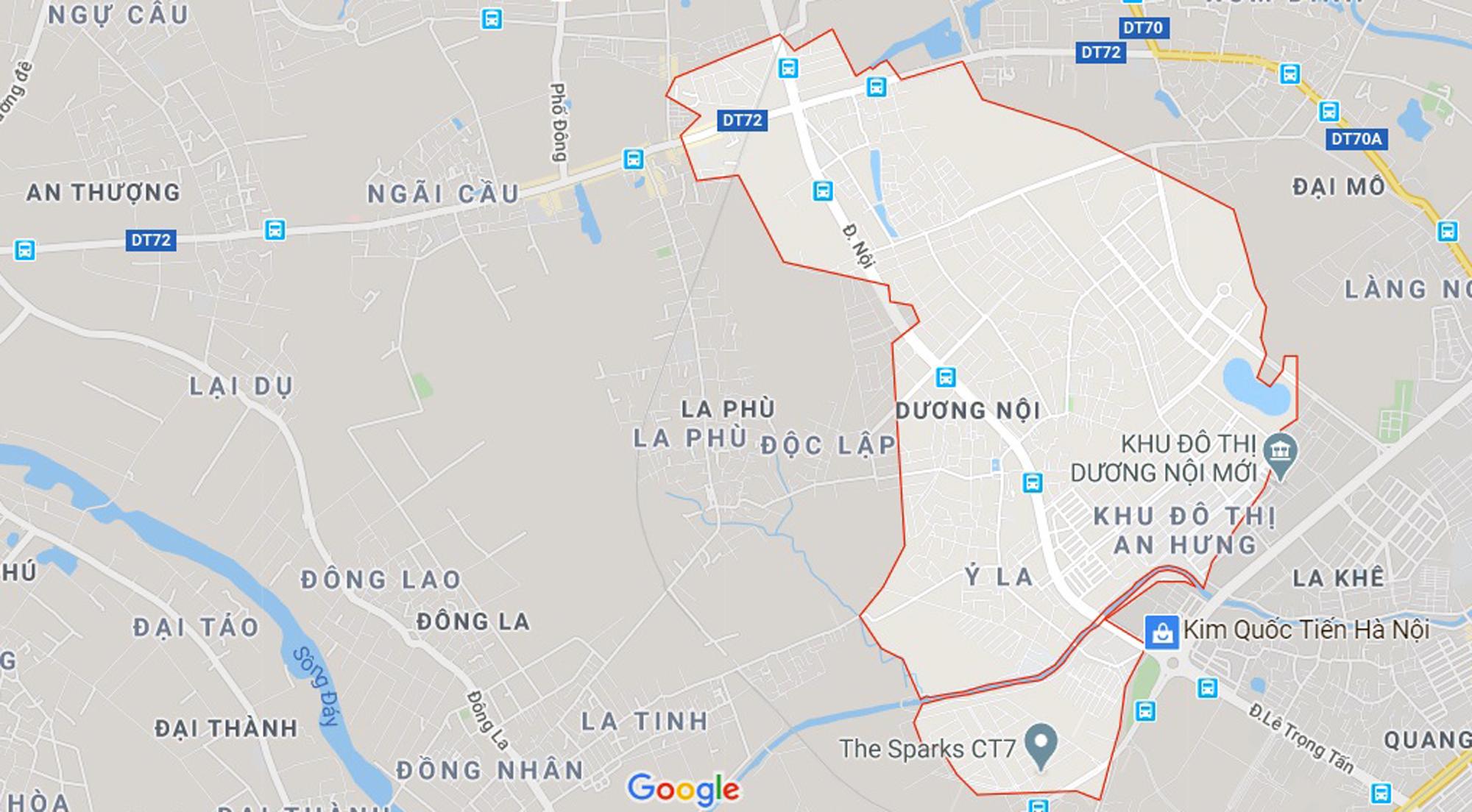 Đất dính qui hoạch ở phường Dương Nội, Hà Đông, Hà Nội - Ảnh 1.