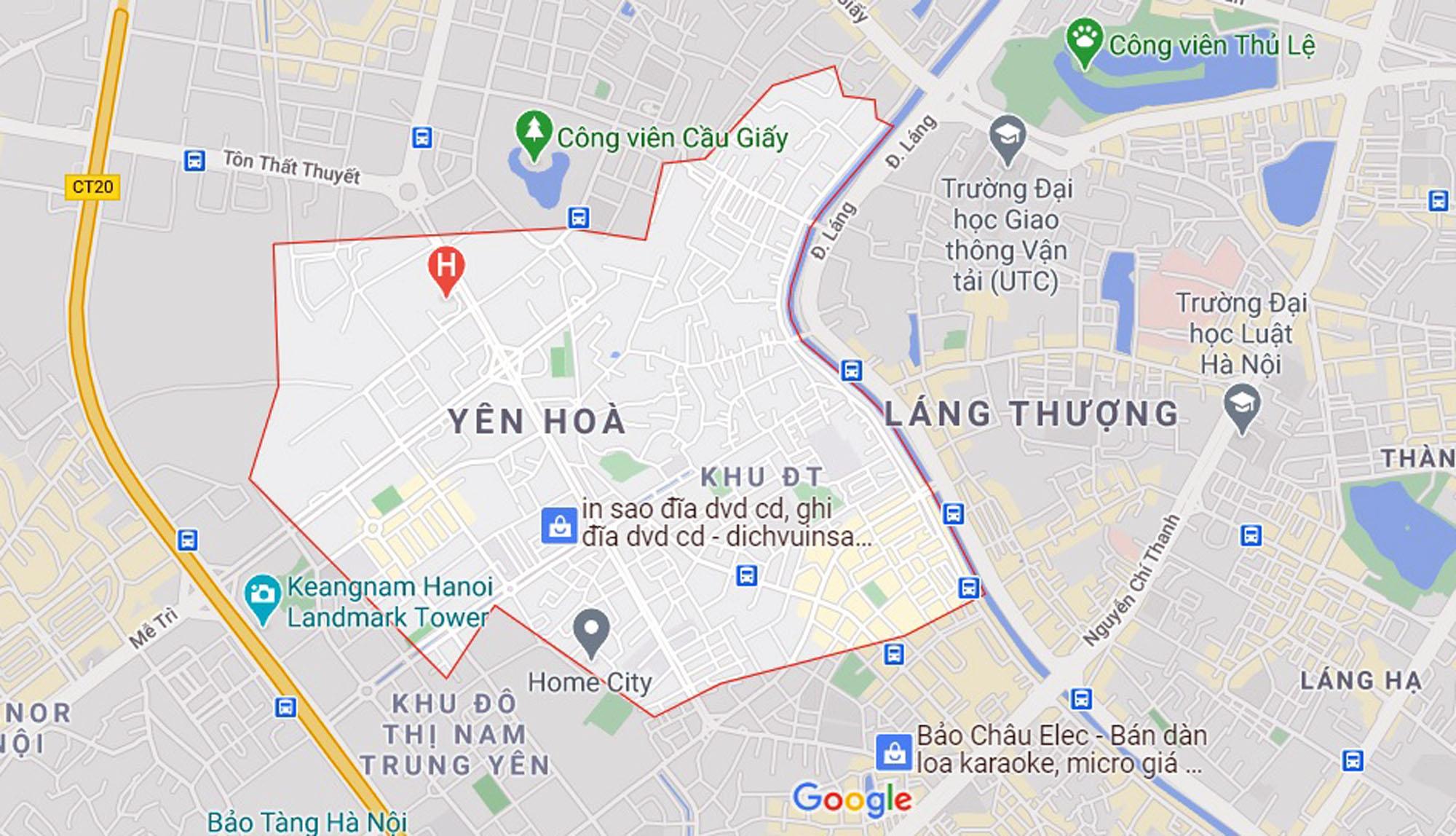đường sẽ mở theo qui hoạch ở phường Yên Hòa, Cầu Giấy, Hà Nội - Ảnh 1.
