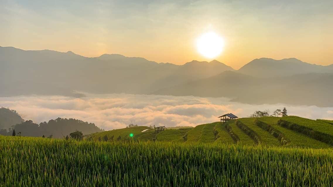 Đường lên Bản Phùng, Hoàng Su Phì mùa lúa chín  - Ảnh 6.