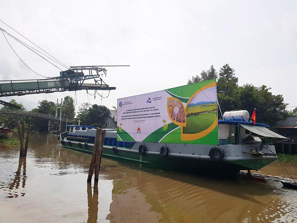 126 tấn gạo thơm đầu tiên của Lộc Trời Group xuất sang EU theo EVFTA - Ảnh 2.