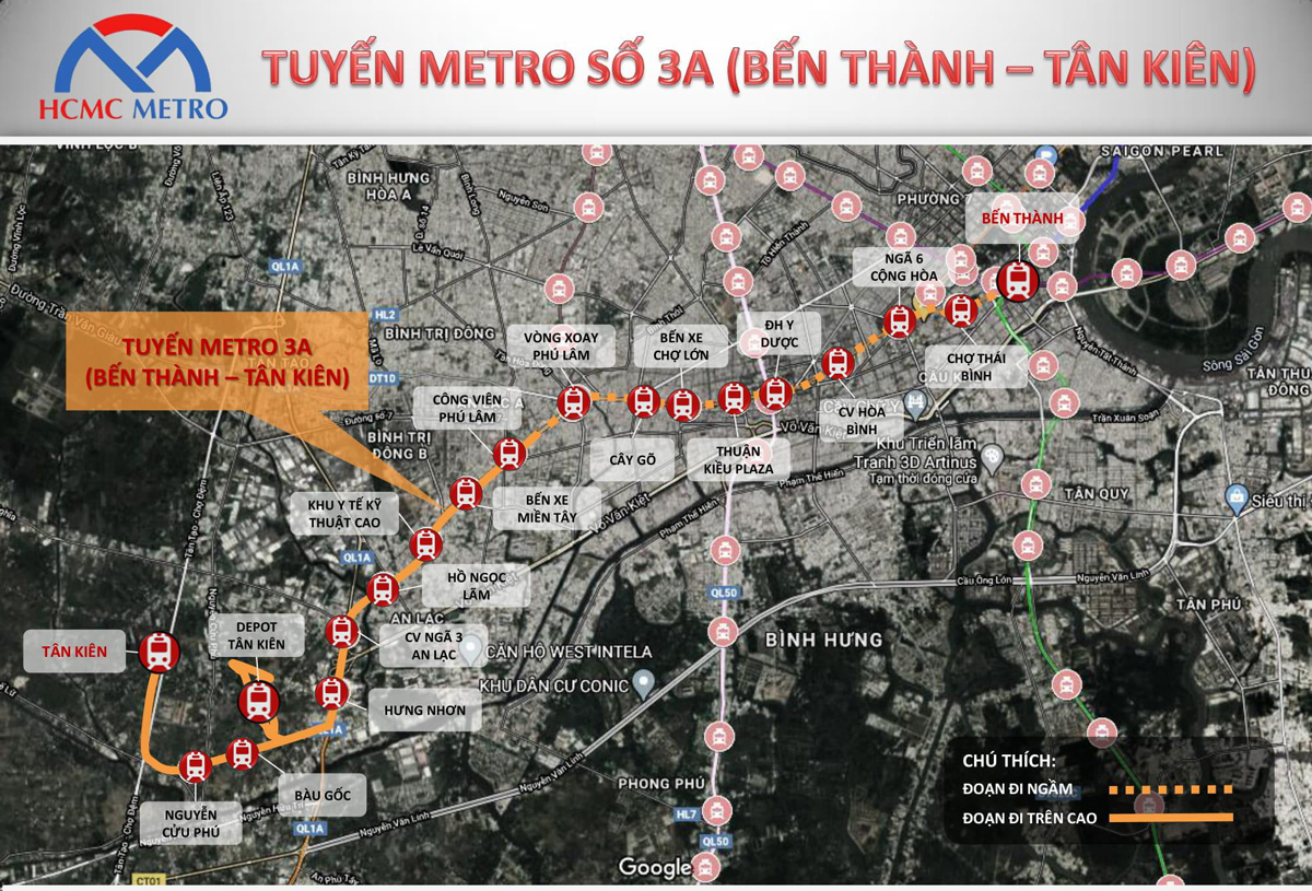 """Những cuộc """"cách mạng"""" hạ tầng phía Tây Nam TP HCM - Ảnh 12."""