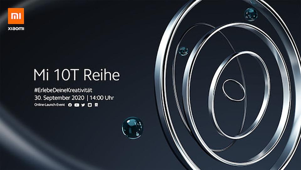 Xiaomi Mi 10T chính thức ra mắt ngày 30/9, màn hình tới 144Hz - Ảnh 1.