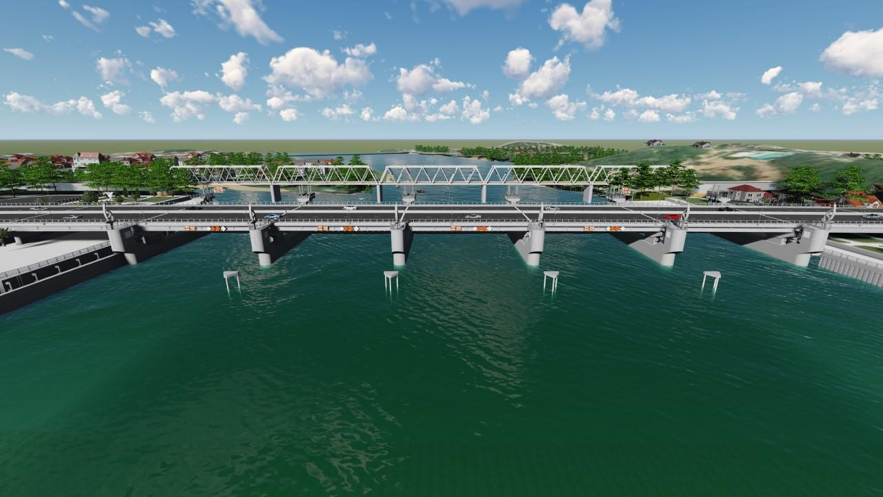 Khởi công đập ngăn mặn 760 tỉ đồng trên sông Cái Nha Trang - Ảnh 2.