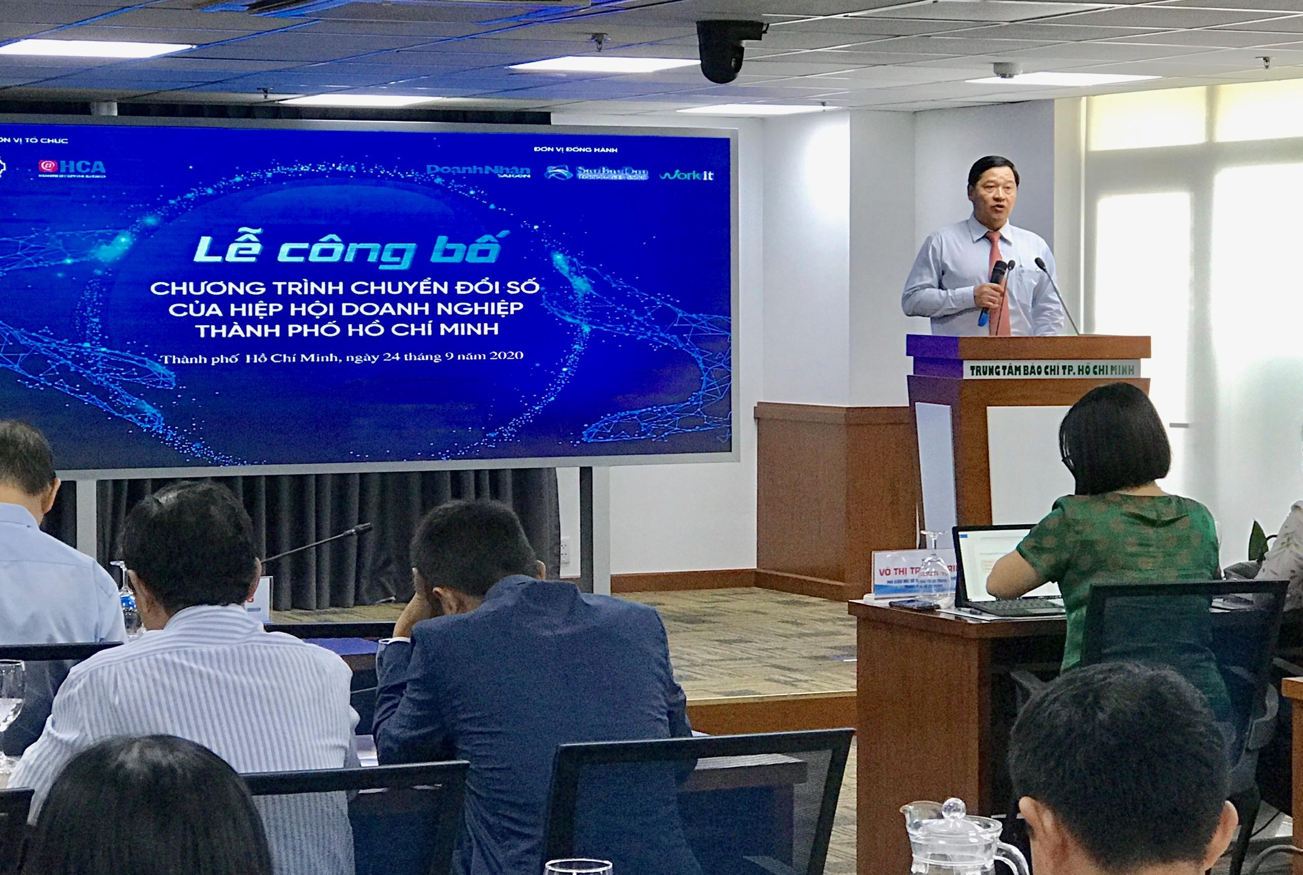 TP HCM dành 4 tỉ đồng hỗ trợ doanh nghiệp tiếp cận các gói giải pháp chuyển đổi số - Ảnh 1.