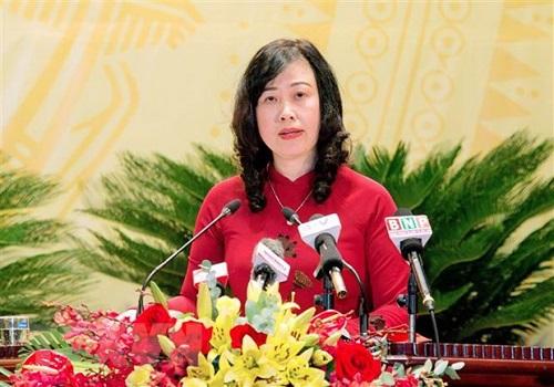 Bắc Ninh có tân nữ Bí thư Tỉnh ủy - Ảnh 1.