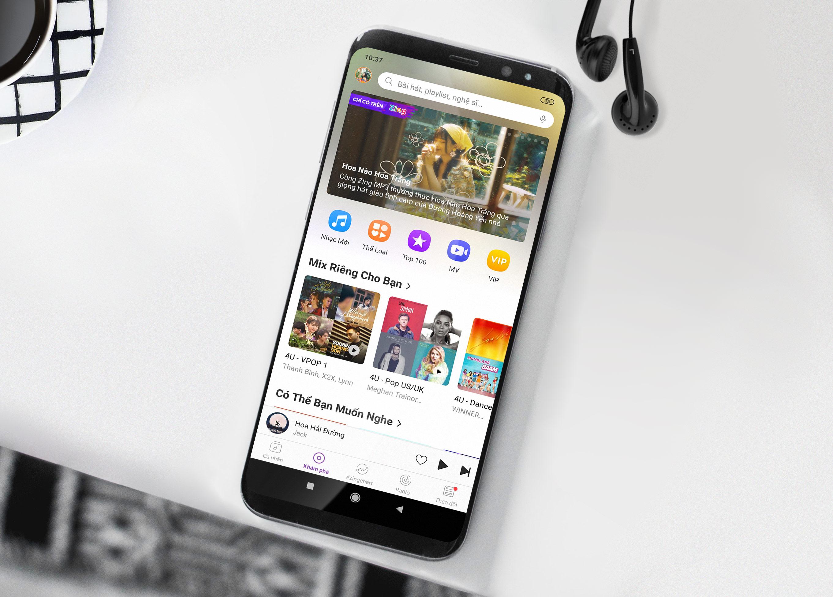 Zing MP3 bổ sung tính năng AI, tăng trải nghiệm nghe nhạc cho người dùng - Ảnh 1.