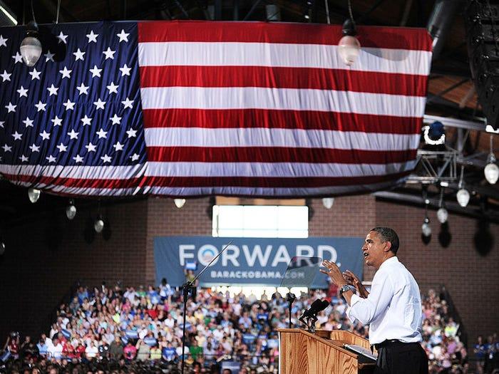 Khẩu hiệu tranh cử của các đời tổng thống Mỹ từ năm 1948 - Ảnh 11.