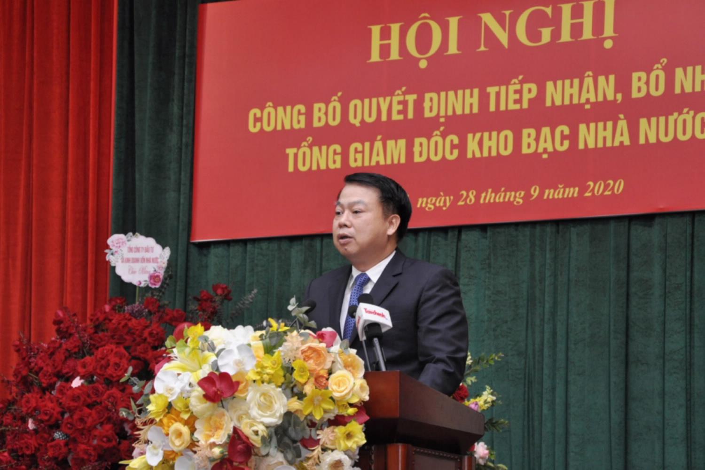 Ông Nguyễn Đức Chi làm Tổng Giám đốc Kho bạc Nhà nước - Ảnh 1.