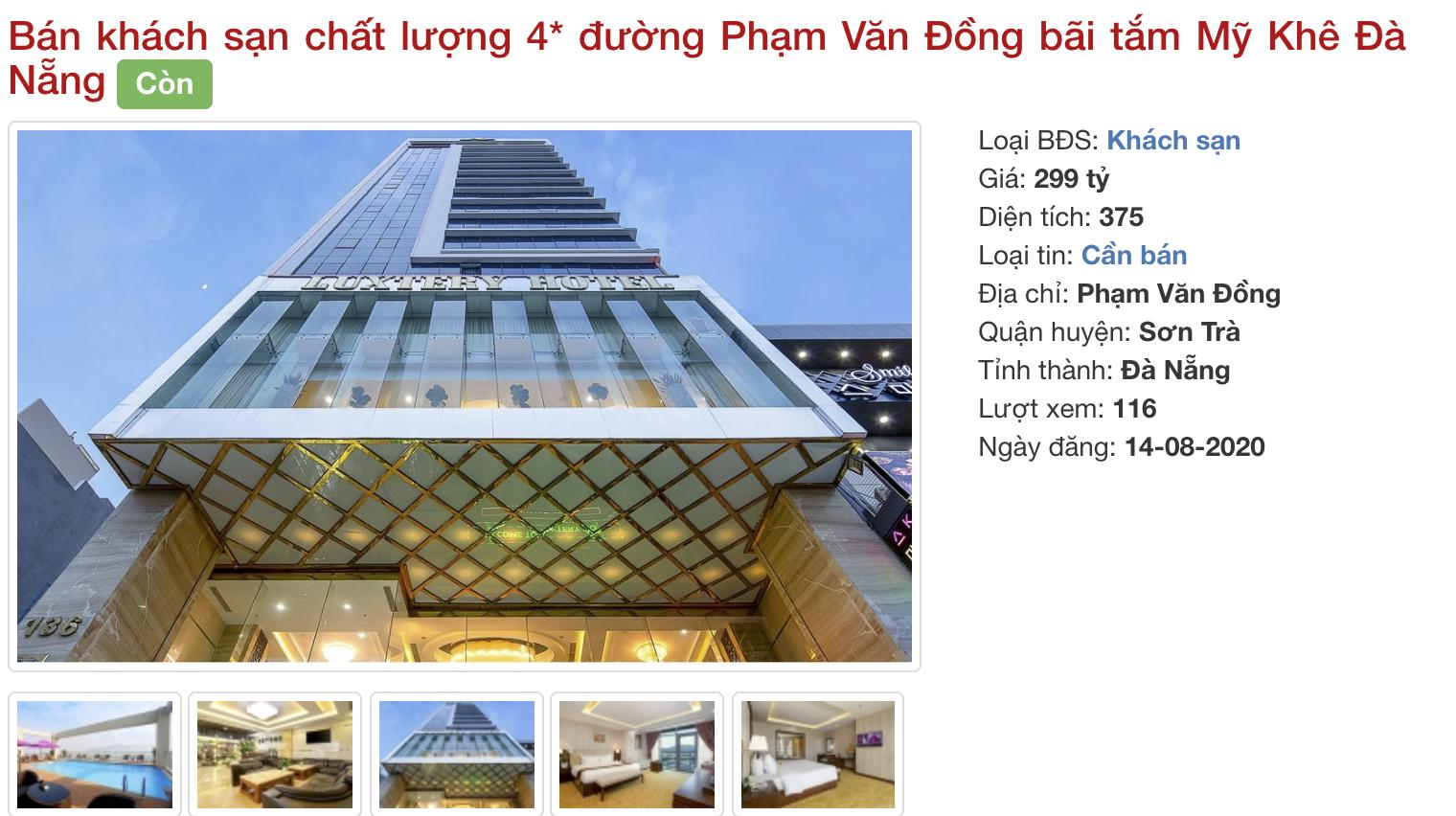 Phố khách sạn Đà Nẵng 'tối đèn', rao bán hàng trăm tỉ đồng - Ảnh 14.