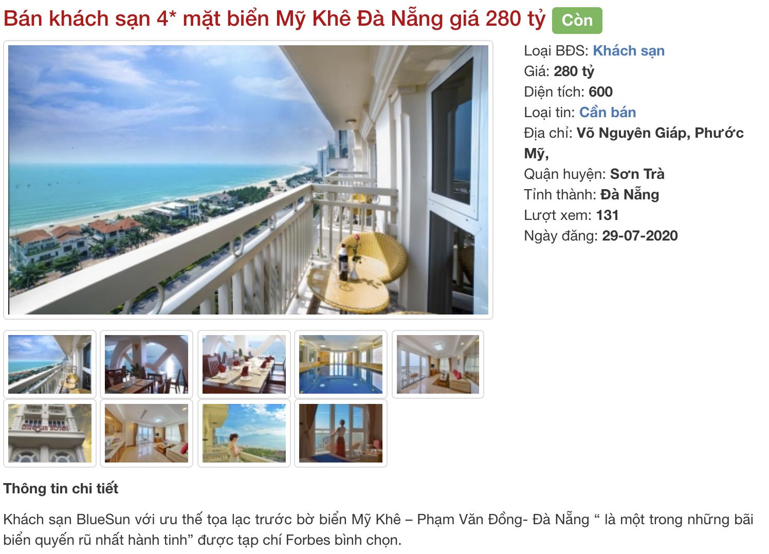 Phố khách sạn Đà Nẵng 'tối đèn', rao bán hàng trăm tỉ đồng - Ảnh 18.