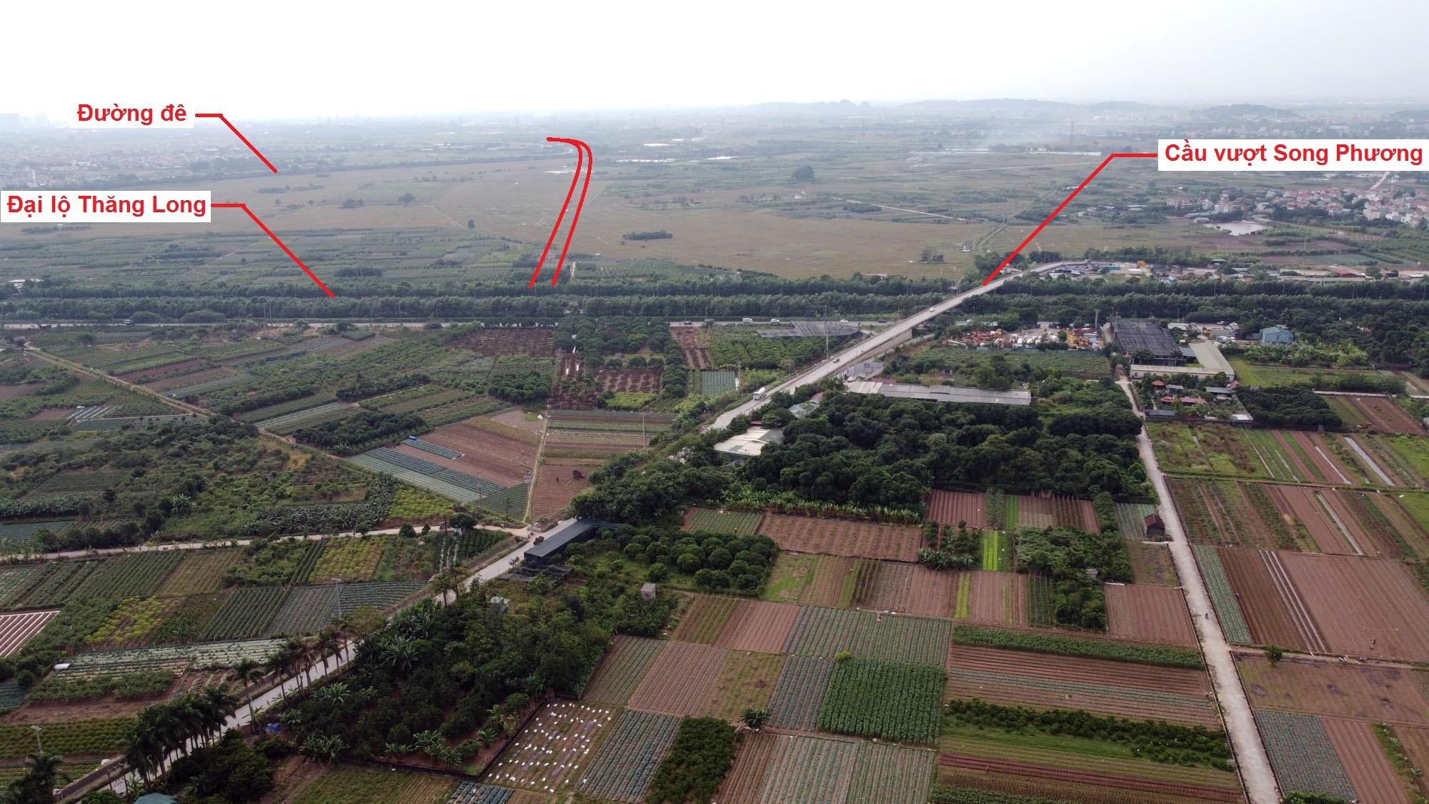 đường sẽ mở theo quy hoạch ở xã An Thượng, Hoài Đức, Hà Nội - Ảnh 3.