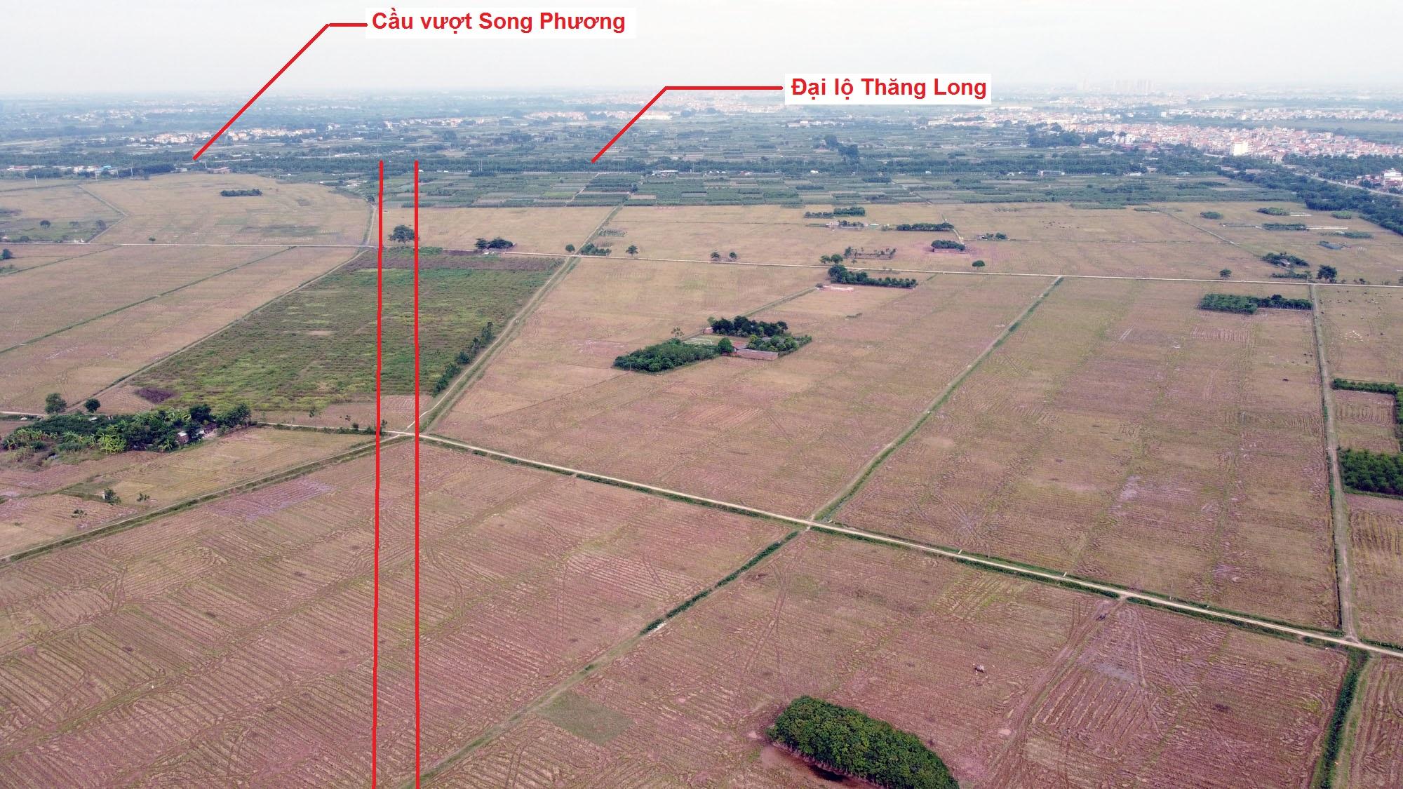 đường sẽ mở theo quy hoạch ở xã An Thượng, Hoài Đức, Hà Nội - Ảnh 4.