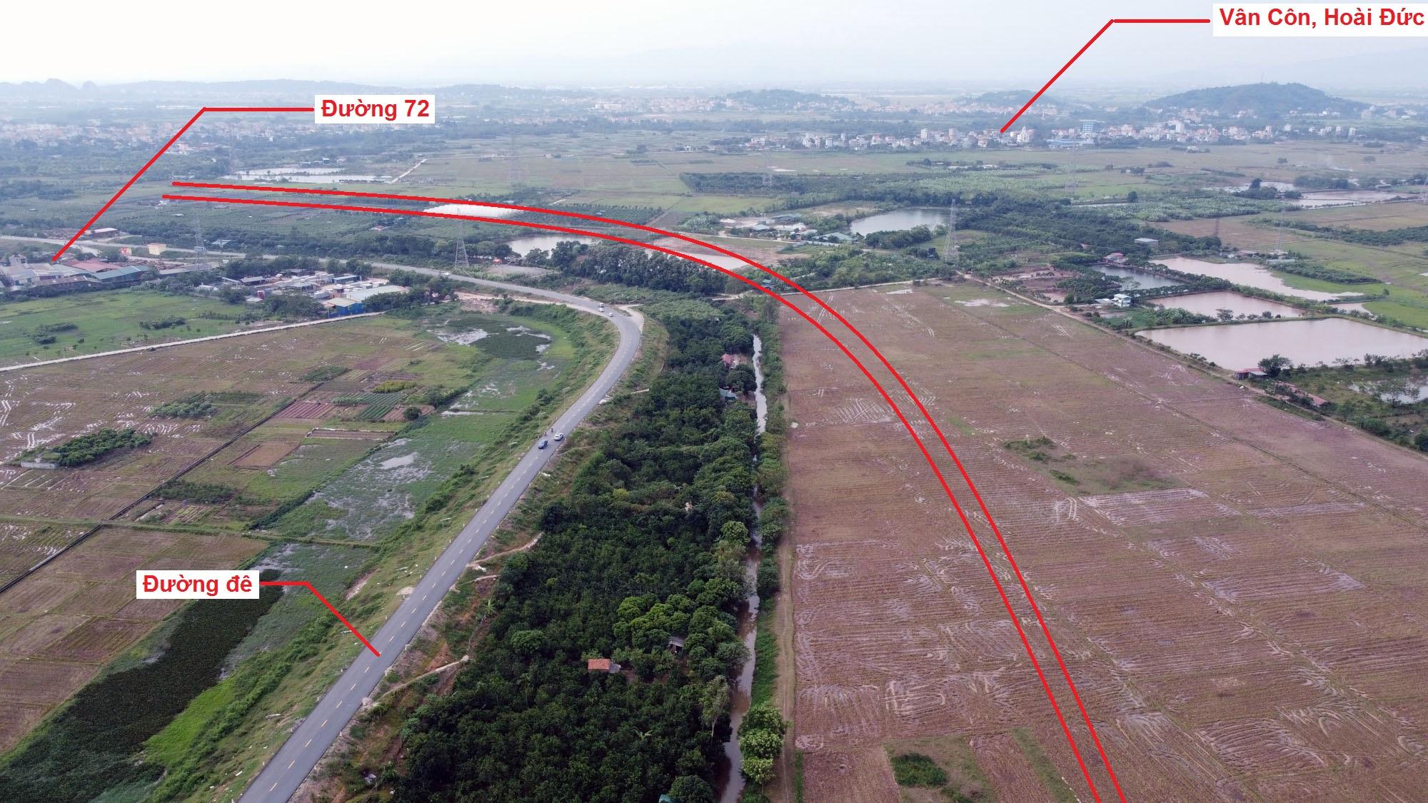 đường sẽ mở theo quy hoạch ở xã An Thượng, Hoài Đức, Hà Nội - Ảnh 5.