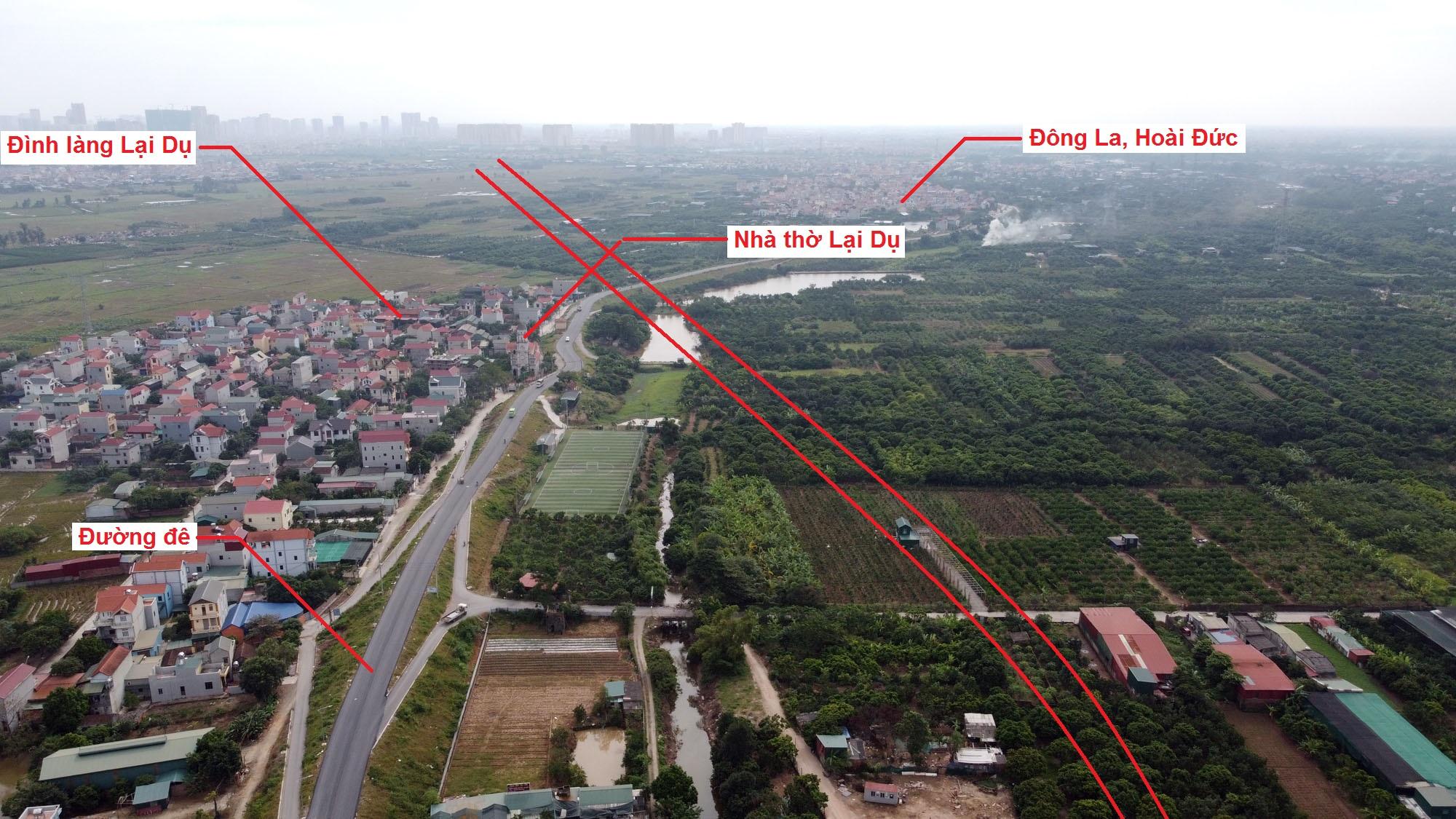 đường sẽ mở theo quy hoạch ở xã An Thượng, Hoài Đức, Hà Nội - Ảnh 6.