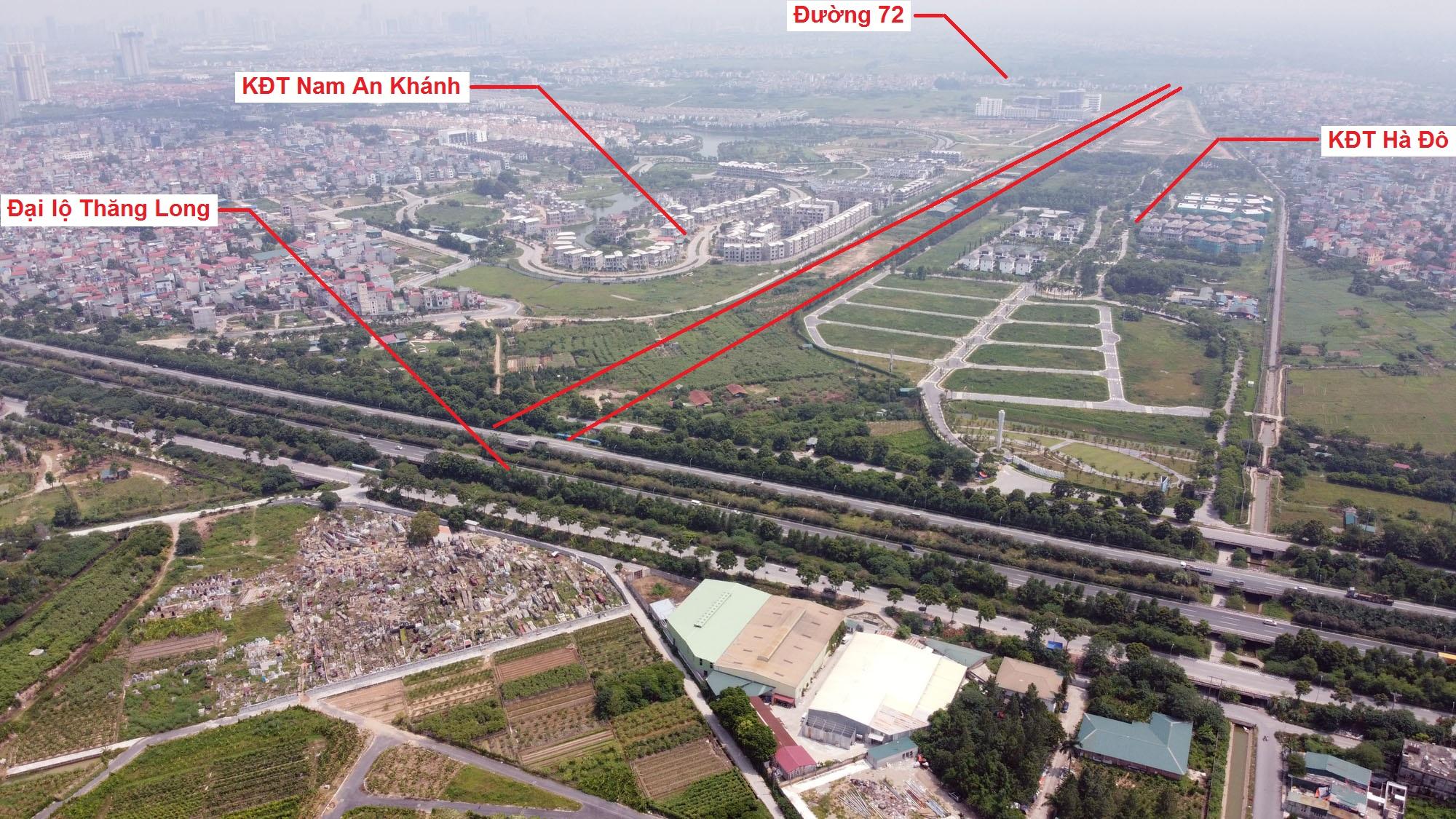 đường sẽ mở theo quy hoạch ở xã An Thượng, Hoài Đức, Hà Nội - Ảnh 8.