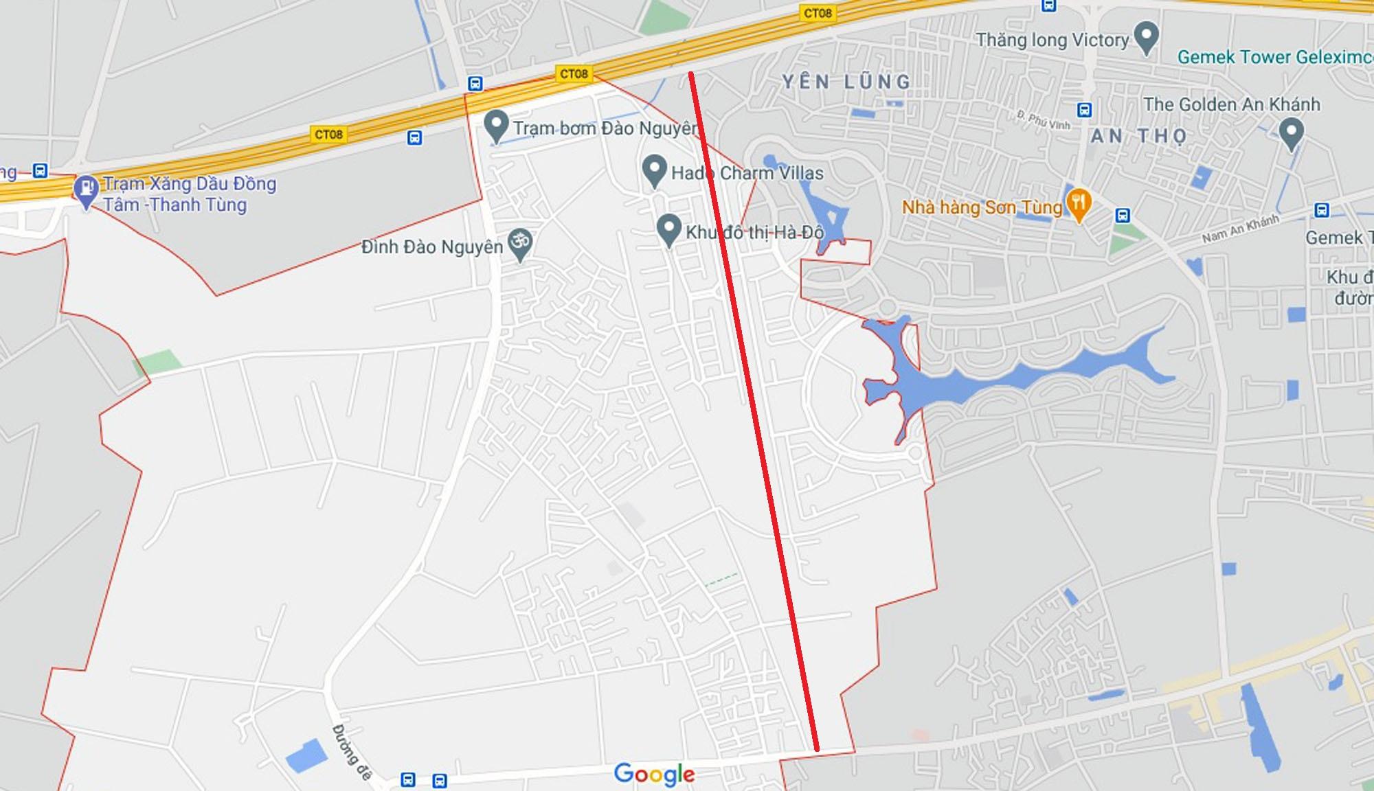 đường sẽ mở theo quy hoạch ở xã An Thượng, Hoài Đức, Hà Nội - Ảnh 7.