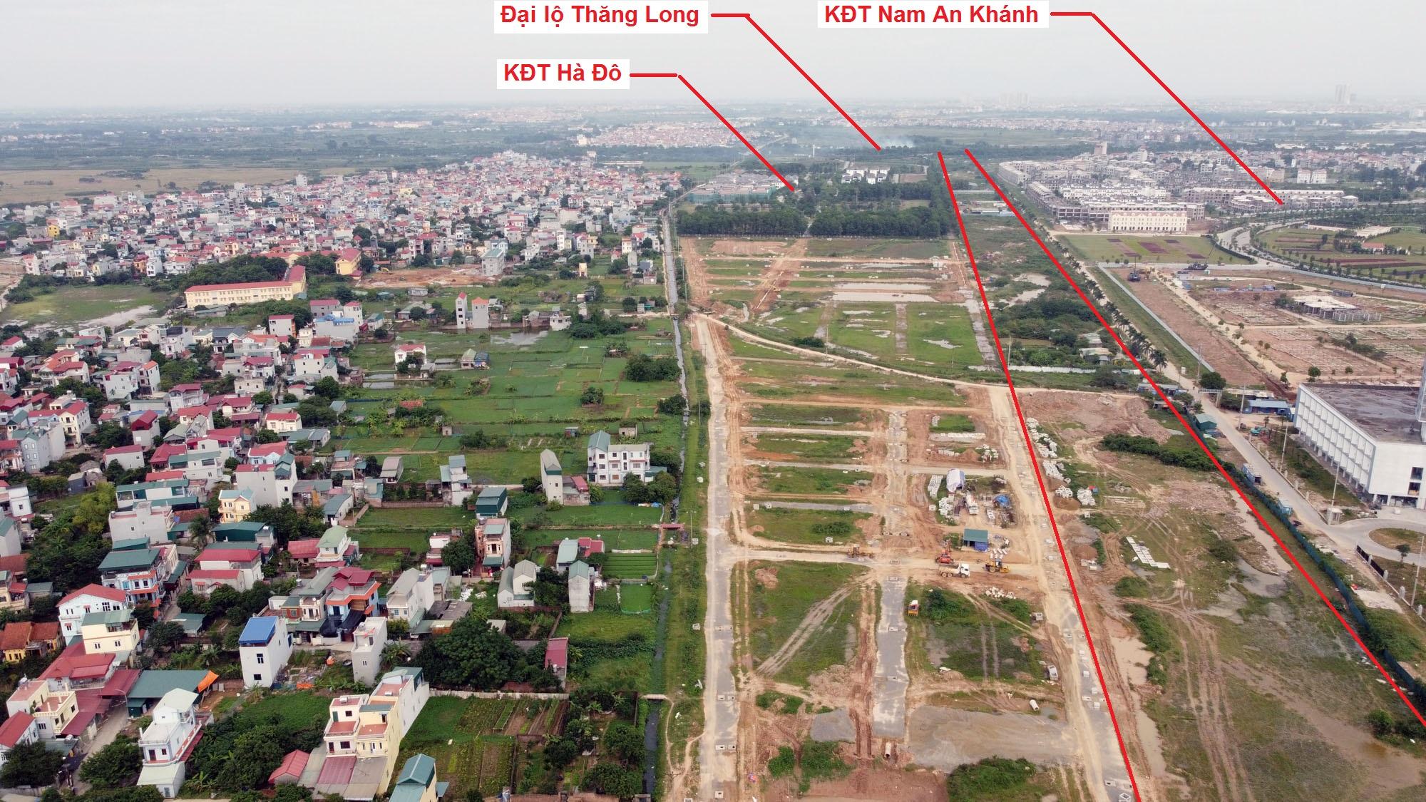 đường sẽ mở theo quy hoạch ở xã An Thượng, Hoài Đức, Hà Nội - Ảnh 9.