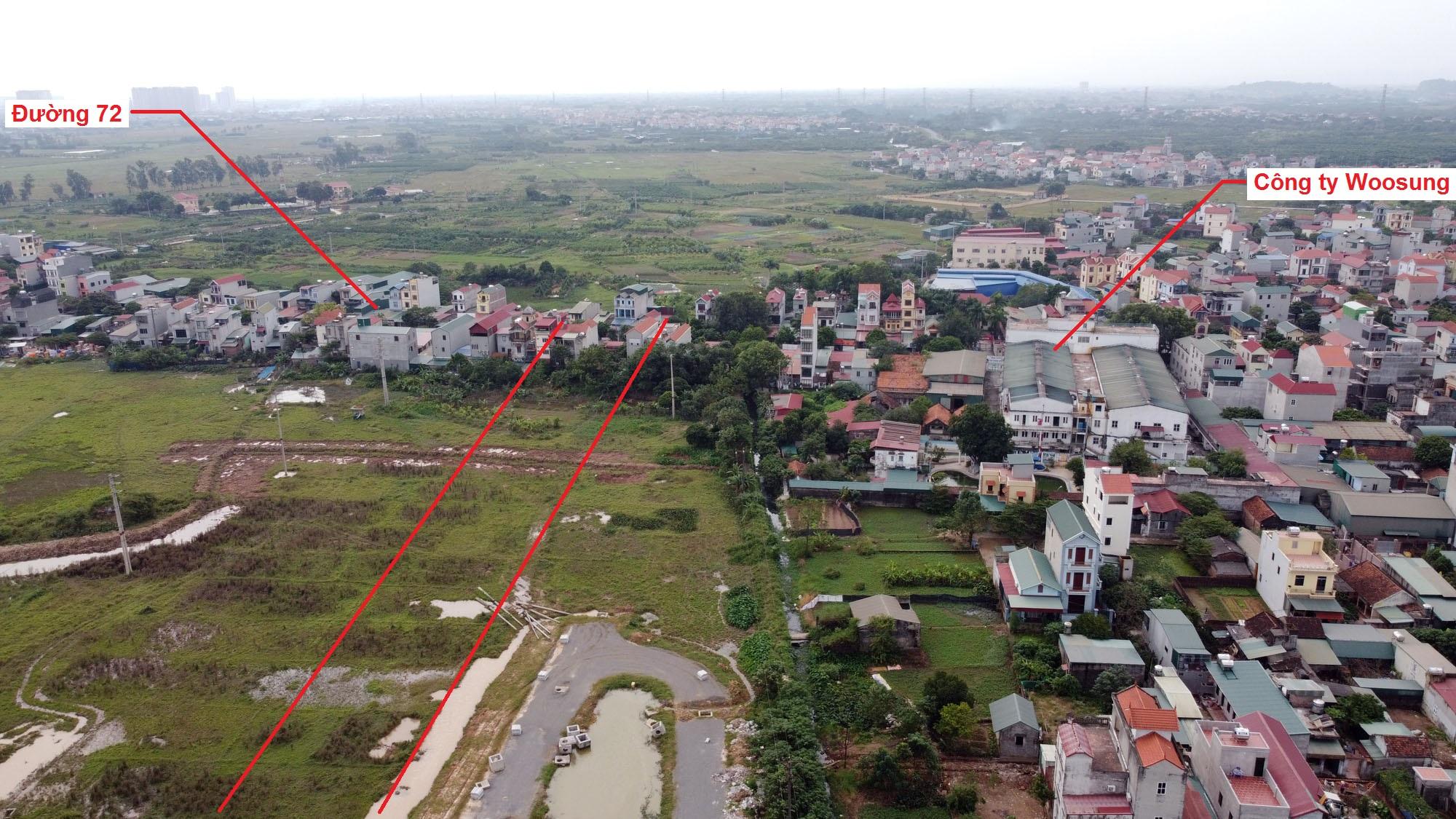 đường sẽ mở theo quy hoạch ở xã An Thượng, Hoài Đức, Hà Nội - Ảnh 10.