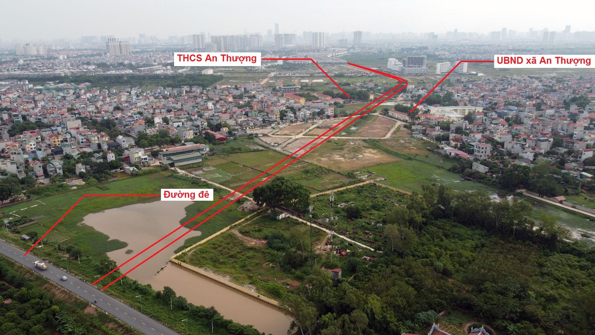 Ba đường sẽ mở theo quy hoạch ở xã An Thượng, Hoài Đức, Hà Nội - Ảnh 12.