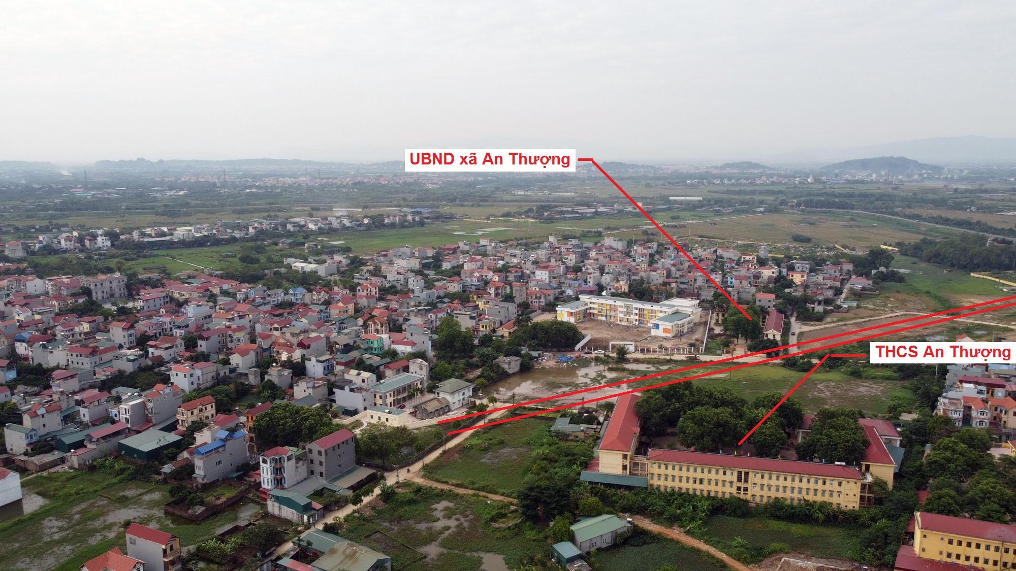 Ba đường sẽ mở theo quy hoạch ở xã An Thượng, Hoài Đức, Hà Nội - Ảnh 13.
